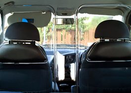 Taxi Transportation Infection-Control Shield